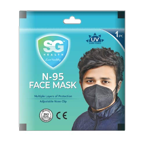 SG Health N-95 Face Mask (Proudly Made in India)