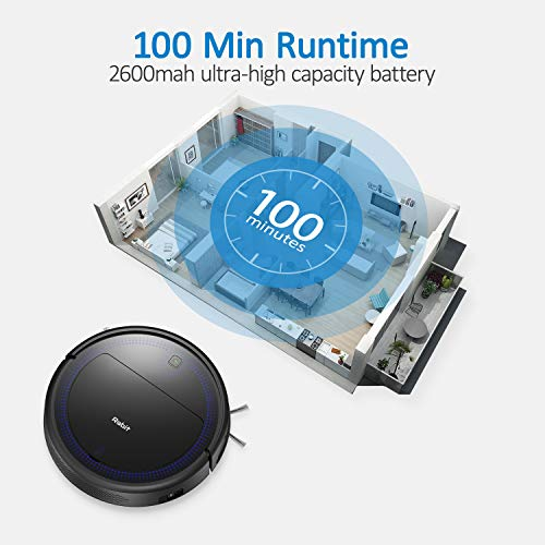 Robit Robot Vacuum, Power Suction 2Kpa (Slim V7S Pro) - Robotic Vacuum Cleaners, Quiet, Auto Charging, Pet Hair Cleaners for Hard Floors, Carpet