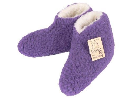 41 Violet 40 Violet Vierge Chaussures Couleur Lit f I Laine 100 Coton wZZq7T