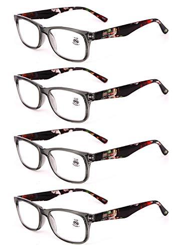 0 3 2 de 3 de 5 lecture Hommes lunettes femmes en 0 5 et 0 Lunettes lentille rectangulaire Gris 1 plein 2 4 Huicai 5 1 résine lecture Pack cadre Iwpq1Bnxp4