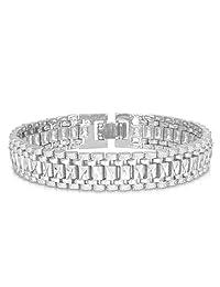 U7 Jewelry Wrist Chain Platinum Plated Jewelry Gold Plated Men Women's Bracelet