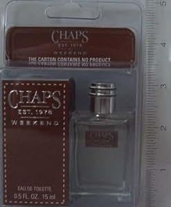 Chaps Est.1978 Weekend 0.5 Fl Oz / 15ml Eau De Toilette Splash Mini for Men.