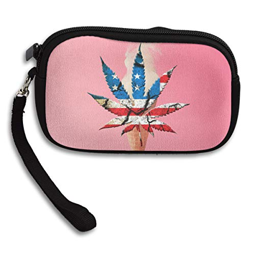 Art Leaf Small Portable States Purse Deluxe The Printing Receiving In Bag Weedy United 5Rwvdnq58