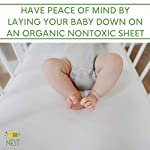 Premium-Organic-Baby-Crib-Sheet-100-Turkish-Cotton-Off-White-Jersey-Knit-Snug-Fit-Ultra-Comfy-Clean-and-Safe-Sheets-GOTS-Certified-Natural-Ecru-Color