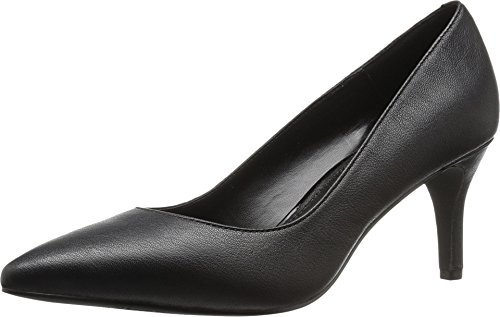 Kenneth Cole REACTION Women's Bill-Lated Pointed Toe Dress Pump, Black, 8 M US