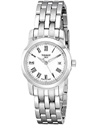 Tissot Womens T0332101101300 Dream Analog Display Quartz Silver Watch