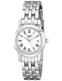 Tissot Women's T0332101101300 Dream Analog Display Quartz Silver Watch