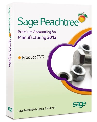 Sage Peachtree Accounting for Manufacturing 2012 [Old Version]