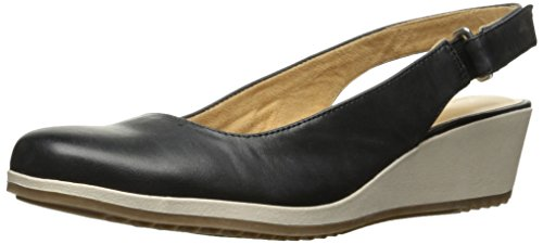 Black Women's Espadrille Naturalizer Bridget Wedge Sandal xC1qYqwX