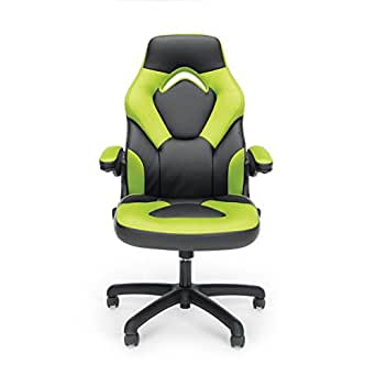 Amazon Com Essentials Racing Style Leather Gaming Chair