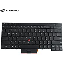 SUNMALL New Laptop Keyboard replacement with Pointer for Lenovo IBM ThinkPad X230 X230I X230T X230I T430 T430S T430I L430 T530 T530I W530 L530 US Layout Black (6 Months Warranty)