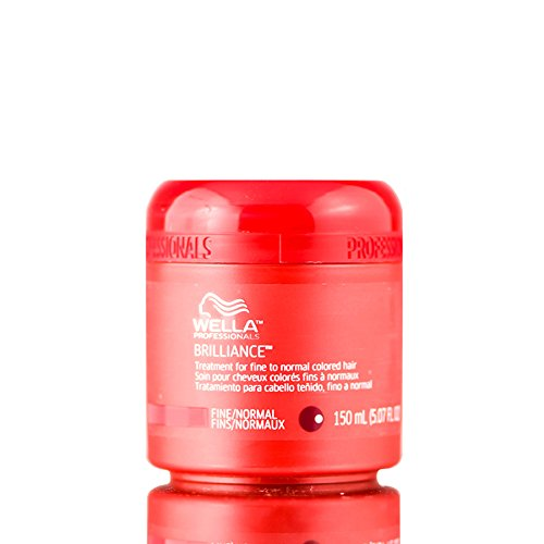 Wella Brilliance Treatment for Fine to Normal Colored Hair, 5.07 Ounce