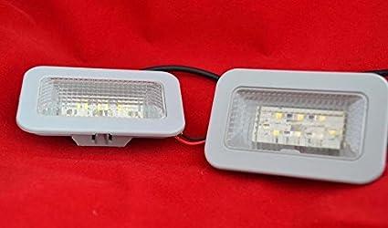 2 X 24 V Weiß Clear Led Tür Seite Marker Lights Lampen Spezifische Für Actros Auto