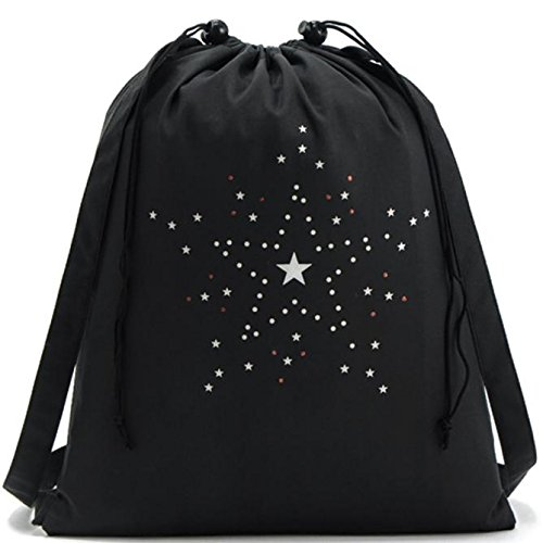 Clearance Stars Print Drawstring Sports Dance Bag Storage Backpack by Napoo-Bag (Image #4)