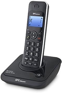 SPCtelecom 7243N - Teléfono inalámbrico, negro: Amazon.es: Electrónica
