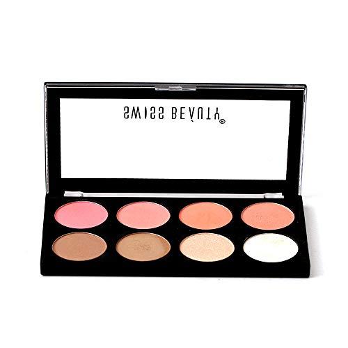 Swiss Beauty Ultra Blush Palette, Face MakeUp, Multicolor-02, 16g