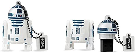 Llave USB 8 GB R2D2 - Memoria Flash Drive 2.0 Original Star Wars ...