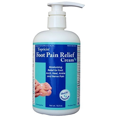 Topricin Foot Pain Relief Cream (16 oz) by Topricin