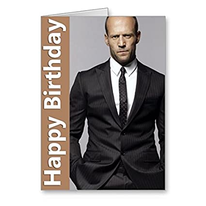 Jason Statham Birthday Card Amazoncouk Office Products
