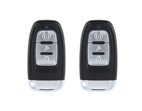 EASYGUARD rolling code car alarm system with passive keyless entry ...