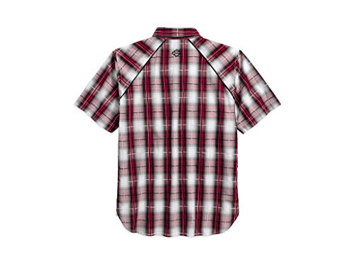 Harley-Davidson Modified Yoke Americana Plaid Shirt Hemd, 96619-17VM