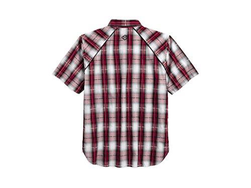 Harley-DavidsonModified Yoke Americana Plaid Shirt Hemd, 96619-17VM