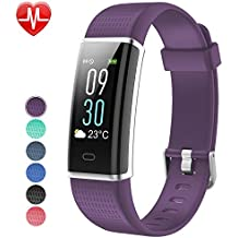 Willful Fitness Tracker, Fitness Watch Activity Tracker with Heart Rate Monitor Watch, IP68 Waterproof Sleep Monitor Step Counter 14 Sport Modes,Pedometer for Women Men Kids (Color Screen,2018 Ver)