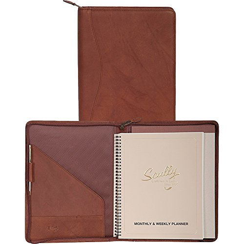 (Scully Zip Around Weekly Planner and Letter Pad (Tan))