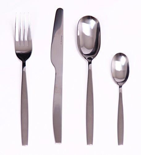 (Ewei's HomeWares 16-Piece Flatware Set,18/0 Stainless Steel, Mirror Finish Hand Polish, Service for 4,)