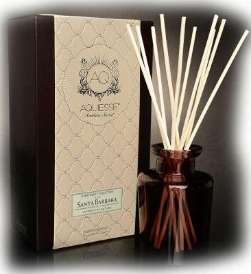 Collection Reed Diffuser - Aquiesse SANTA BARBARA REED DIFFUSER Portfolio Collection Gift Boxed