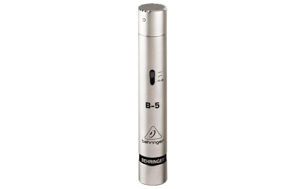 Behringer B-5 - Microfono a condensatore a diaframma dotato di 2 capsule intercambiabili MUSIC Group B5