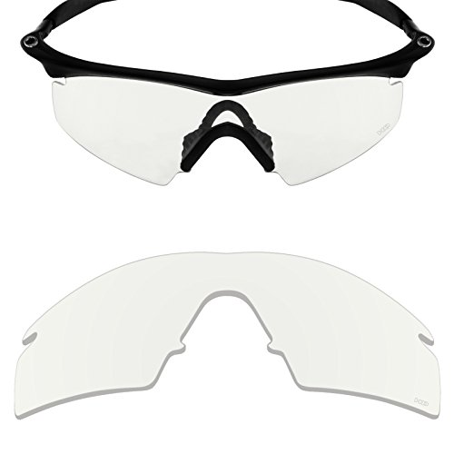 Mryok+ Polarized Replacement Lenses for Oakley M Frame Strike - HD - Polarized Clear Lenses