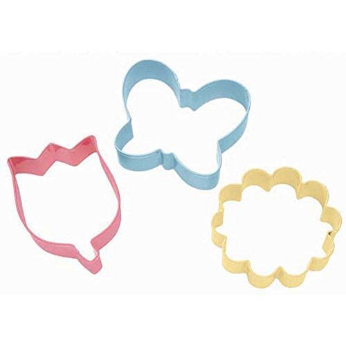 3 Pc. Flower Cookie Cutter Set