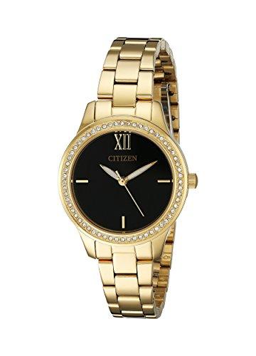 Citizen Women's EL3088-59E Analog Display Japanese Quartz Gold Watch