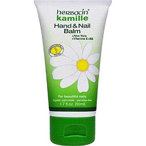 Herbacin Kamille Hand and Nail Balm, 1.7 Fluid Ounce
