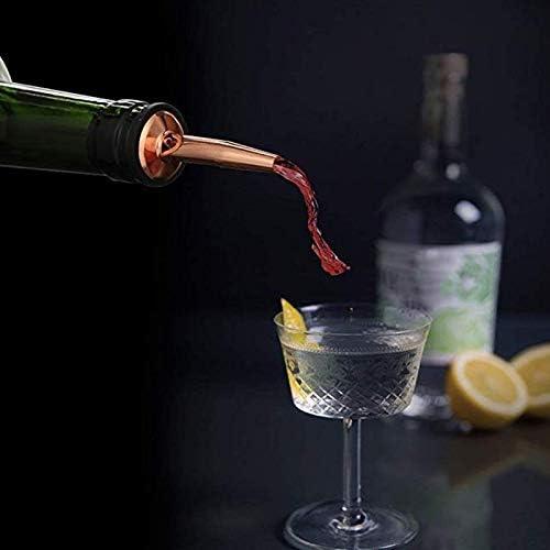 Xigeapg 11 StüCke 750Ml Cocktail Shaker Y Shiny Edelstahl Britischen Cocktail Shaker Set Rose Gold Farbe
