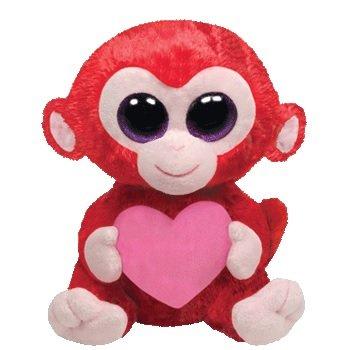 19f934d87ea Amazon.com  Charming the Monkey Ty Beanie Boo 6