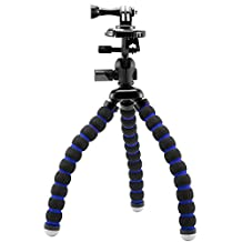 Arkon GPROTRIXL Flexible 11-Inch Tripod for GoPro HERO 4, HERO 3-Plus, HERO 3, HERO 2 and HERO Action Cameras, Black