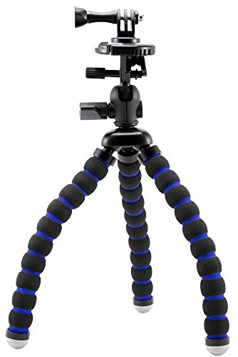 Arkon Flexible 11 inch Tripod Mount for GoPro Hero Action Cameras Retail Black