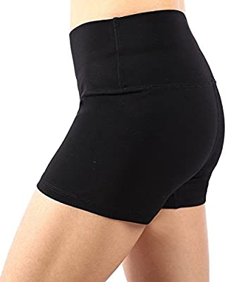 Neonysweets Womens Exercise Workout Running Yoga Short Pants