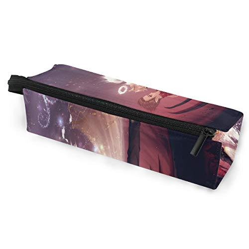 Angel Devil's Love Glasses Case Portable Soft Sunglasses Pencil Bag Protective Holder]()