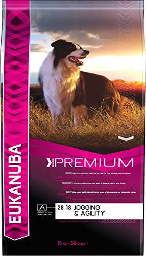 Comprar Eukanuba Premium Adulto Jogging y Agility [15 Kg] - Envíos Baratos o Gratis 24/48H - Descubre los mejores piensos especiales para tu perro