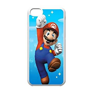 iPhone 5c Cell Phone Case White Super Mario Crby
