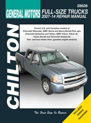 General Motors Full-Size Trucks Chilton Repair Manual for 2007-14