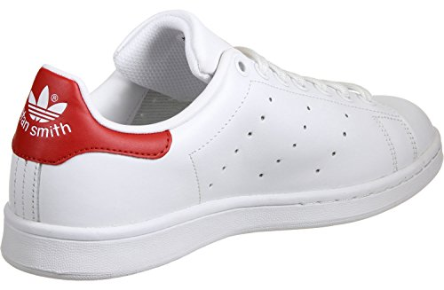 Rouge Stan Smith Baskets Originals Adulte Mixte Blanc Adidas zTgq8x0wp