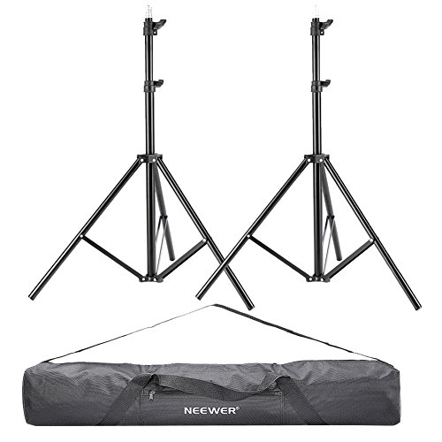 Neewer 2 Pieces 75'/6 Feet/190CM Photography Light Stands with 36'/92cm...