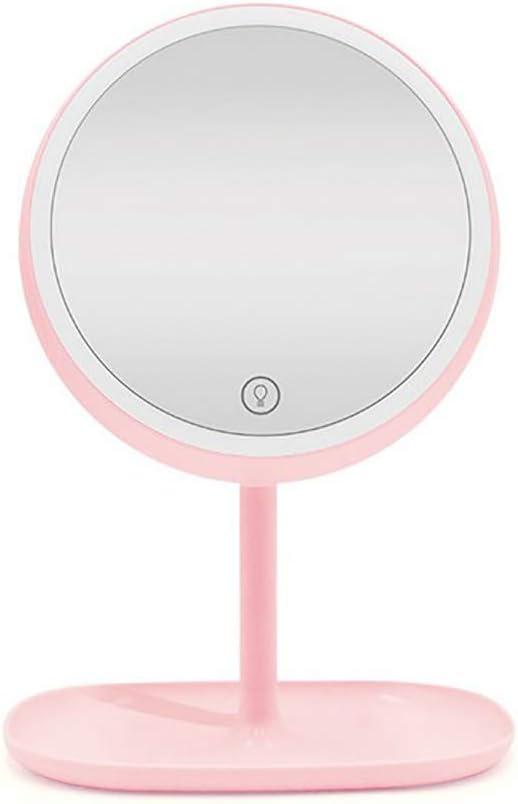 laamei LED Espejos Maquillaje Afeitarse Espejos para Baño de Mesa ...