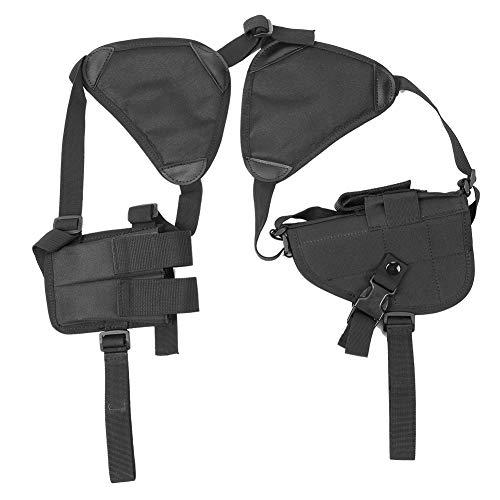 MLMLH Holster d'épaule - Étui Noir Durable pour Pistolet à bandoulière Étui réglable avec étui pour Magazine 1