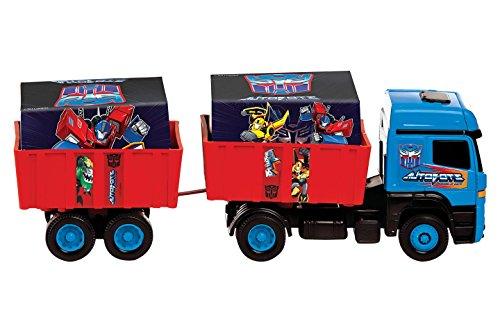 Caminhão Bi-Trem Transformers Multibrink Vermelho