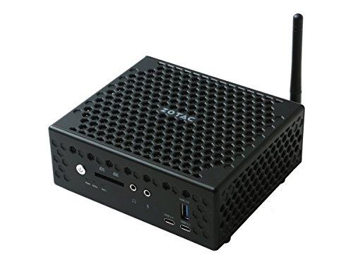 ZOTAC ZBOX C Series CI527 Nano Fan-less Mini PC Intel Core i3-7100U CPU Silent Performance Barebone System ZBOX-CI527NANO-U
